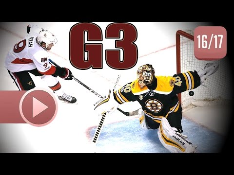 Ottawa Senators vs Boston Bruins. 2017 NHL Playoffs. Round 1. Game 3. April 17th, 2017. (HD)