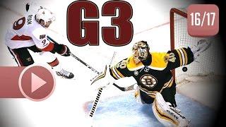 Ottawa Senators vs Boston Bruins. 2017 NHL Playoffs. Round 1. Game 3. April 17th, 2017. (HD)