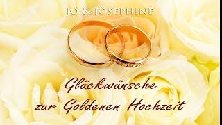 Zur Goldenen Hochzeit Gratulie Glückwünsche Gold Silber Kauf