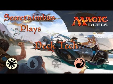 Let's Play Magic Duels  - W/R Vehicles Deck - Deck Tech & Gameplay