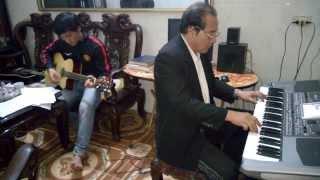 Điệu sắp qua cầu. Organ Hà ân - guitar Người Giời - Kamera Trần Tiên Sinh