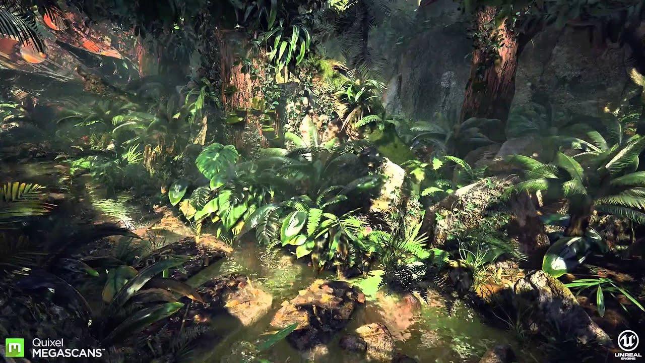 3d Crazy Wallpaper Unreal Engine 4 Quixel Megascans Photorealistic