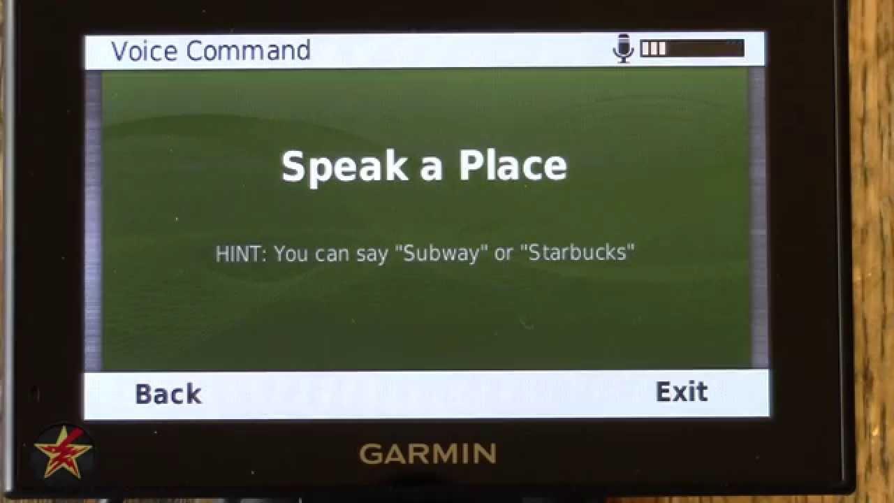 Garmin Nuvi 2599LMTHD pt 3 (Voice Commands)