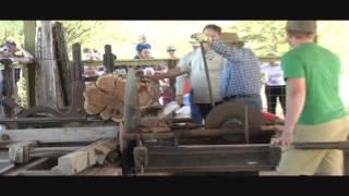 Old Farm Machines Working'/Saw Mill
