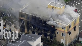 Suspected arson at Japanese animation company reverberates online