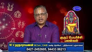 Guru Peyarchi Palangal 2018 | குரு பெயர்ச்சி பலன்கள் 2018 | by M.V.Naranarayanan