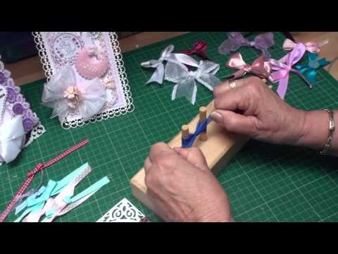 Using a Bow Maker (card-making-magic.com)