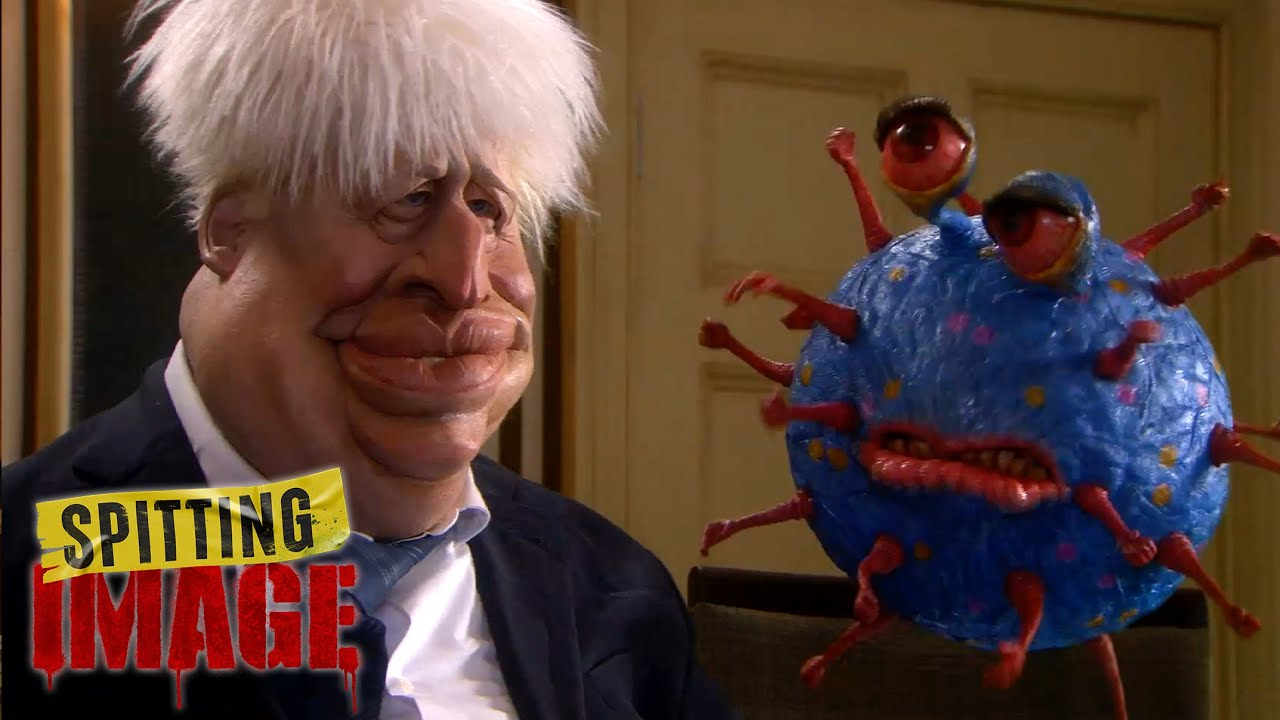Boris Johnson Sleeps With the Virus | Spitting Image - YouTube