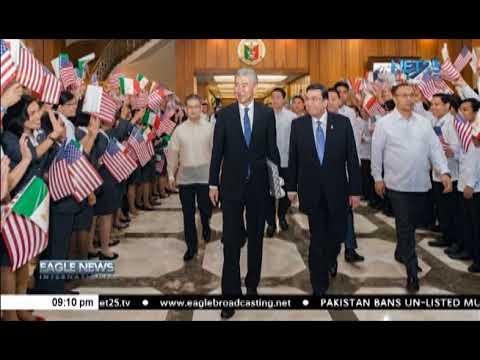 US ambassador visits INC Executive Minister