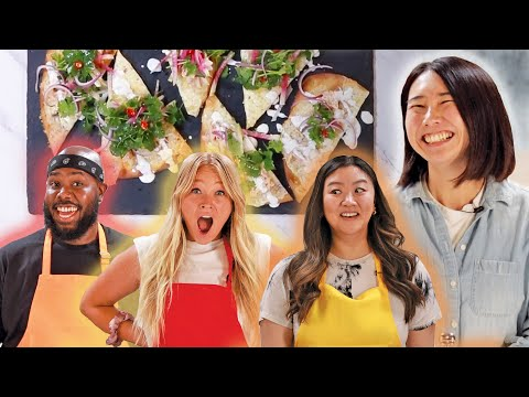 Which Chef Will Spice Up The Best Flatbread For Rie? • Tasty