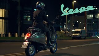 Vespa Elettrica - The New Electric Scooter