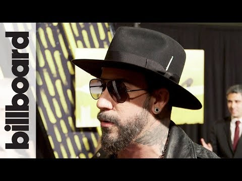 AJ McLean Talks 'Back Porch Bottle Service,' Working With Florida Georgia Line | CMT Awards 2018
