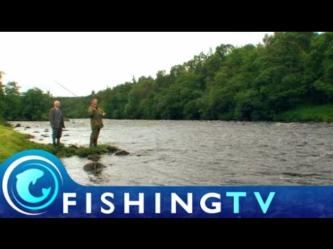 Salmon Fishing Glen Tanar Salmon Fishery - Fishing TV