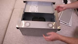 Кухонная вытяжка Minola HTL 5612 I 1000 Led видео обзор