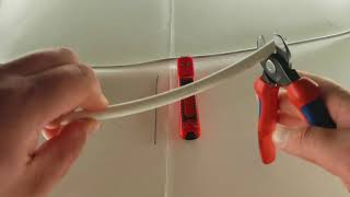 Awesome cable stripping dismantling tool & cable shears Knipex съемник изоляции
