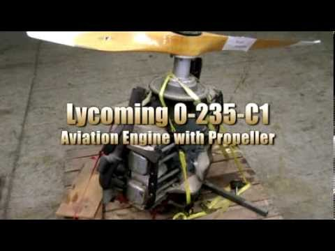 Lycoming Aviation Engine with Propeller on GovLiquidation.com