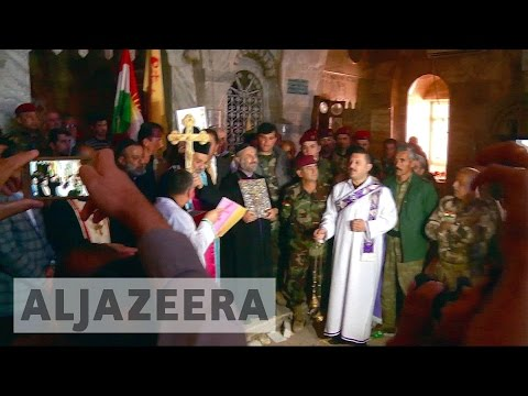 Iraqi Christians rebuild churches after ISIL