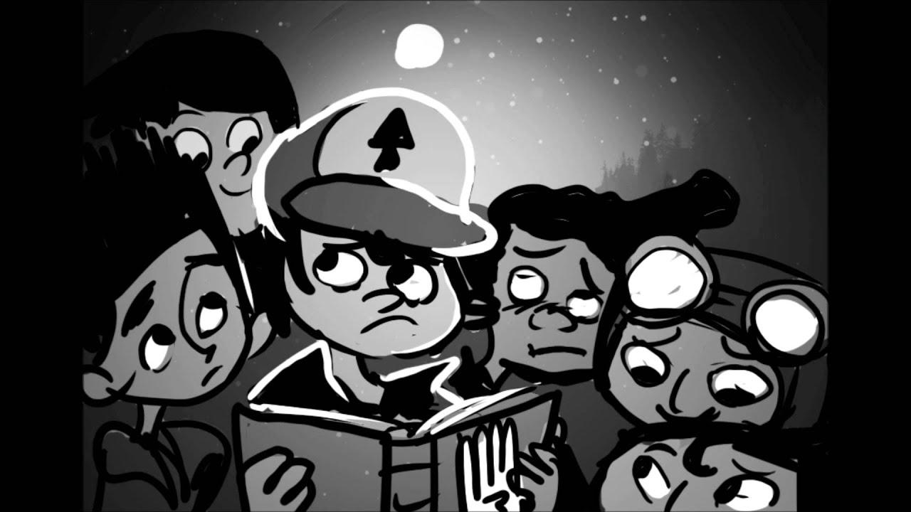 Gravity Falls Fan Art Wallpaper Mystery Kids Intro Youtube
