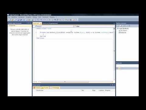 VB.NET - Creare login a Facebook