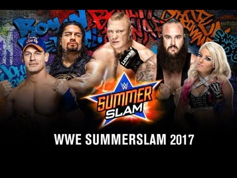 WWE SummerSlam 2017 Full Show HD - WWE SummerSlam 20 August 2017 Highlights Show HD
