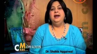 Fungle Infection- Dr. Shehla Aggarwal- Dermatologist- Monsoon quotes on Pragya TV