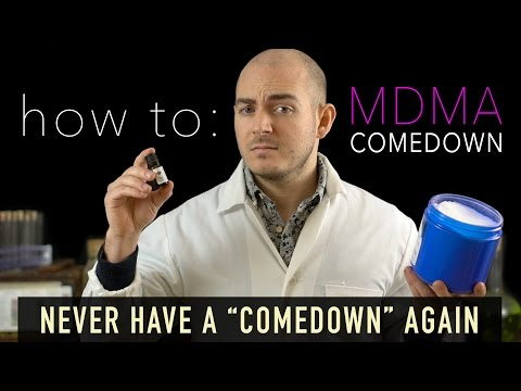 "The MDMA Comedown Guide - ""Never Have a Comedown Again"""