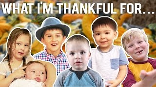 KIDS GIVE THANKS!