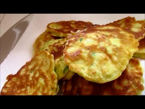 EASY CORN AND ZUCCHINI FRITTERS
