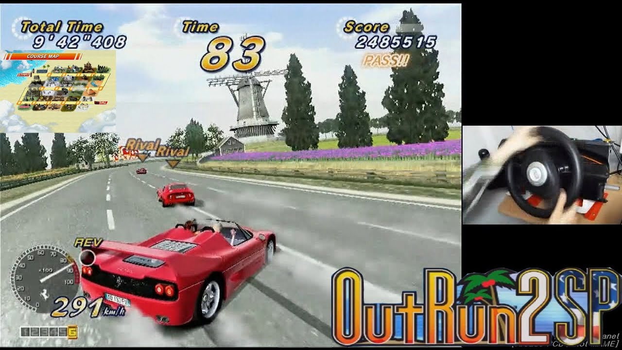 Celebrating 10 years of OutRun 2 (Xbox version, played on