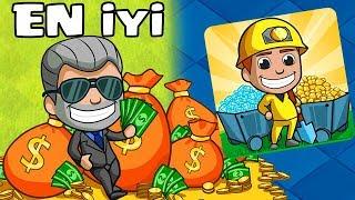 En İyi Mobil MADEN Oyunu !! Clashcılar İZLESİN !!! Idle Miner Tycoon