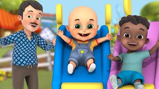 Yes Yes amusement Park | Waterpark Swiming pool, slides | for kids | Jugnu kids Baby Videos