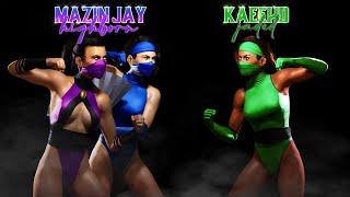 Jade vs Kitana! Kaee HD vs Mazin Jay!(Mortal Kombat 11 Ranked Matches)