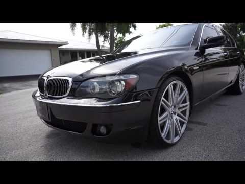 2006 BMW 750i Premium on 22 inch wheels XO LUXURY MILAN CLEAN FOR SALE FLORIDA