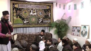 01-02-13 Rabi ul Awal Sharif in London Speech in English  by Sheraz Sb from Bradford
