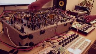 Live Jam #62 - Experimental / Techno - Eurorack, Arturia Microbrute, Beatstep Pro, Akai APCkey 25