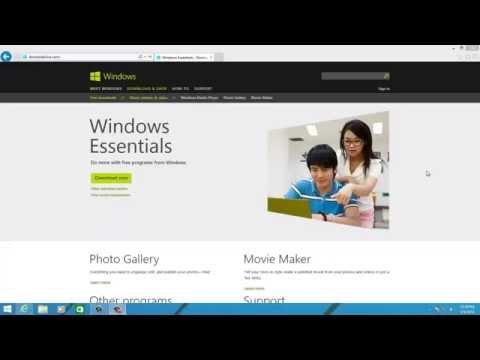 Install Windows Live Essentials On Windows 8.1