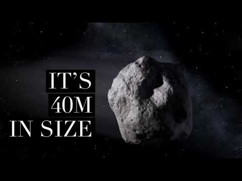Asteroid 2018 CB
