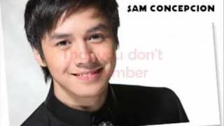 SAM CONCEPCION -MISSED YOU LYRICS