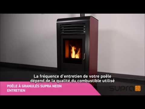 bien entretenir son po le granul s neon supra youtube. Black Bedroom Furniture Sets. Home Design Ideas