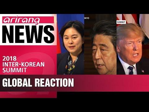 Neighbors of two Koreas react to the summit