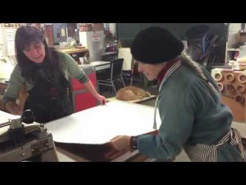 Encaustic Collagraph - Elise Wagner from YouTube · Duration:  4 minutes 39 seconds