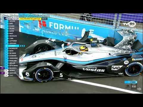 Di Grassi Incident and Mercedes Drivers (Vandoorne & De Vries) Huge Crash Formula E in Rome