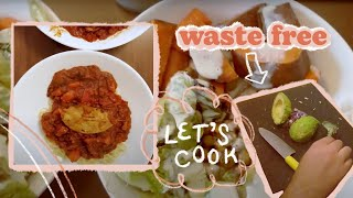 Trying out waste free cooking | 3 recipes