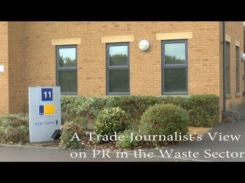 A Trade Journalist's View on PR in the Waste Sector