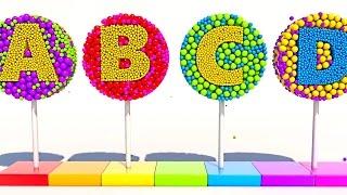 Учим Буквы на английском. Развивающие мультики и обучающие видео обзоры детских игрушек