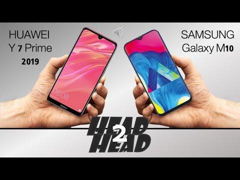 Huawei y7 prime 2019 VS SAMSUNG Galaxy M10