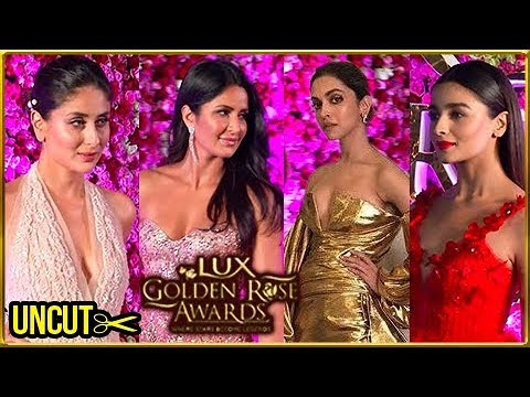 Lux Golden Rose Awards 2017 FULL EVENT | Kareena Kapoor, Alia Bhatt, Katrina Kaif