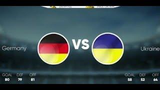 Stickman Soccer Match 36 GERMANY Vs UKRAINE Android Gameplay