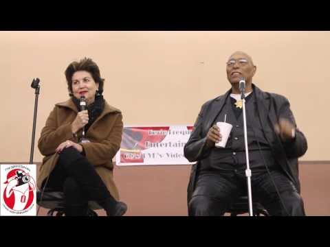 Linda Harrison and Don Pedro Colley Panel at the Eerie Frequency Expo Part 1