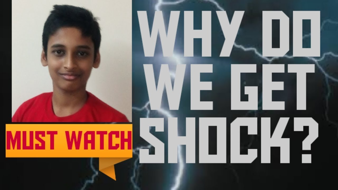 Why do we get shock? - YouTube